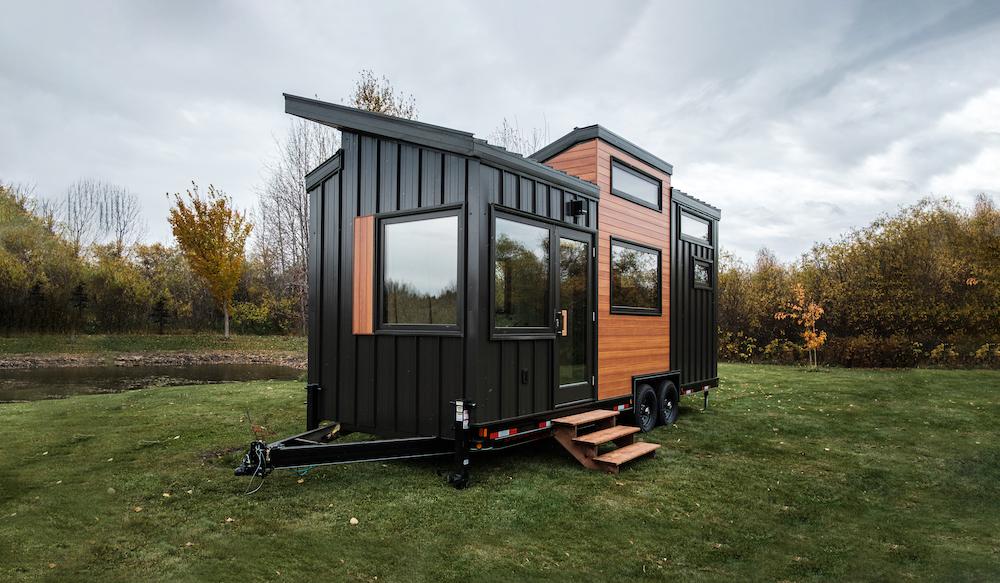 живот на колела - миниатюрна къща