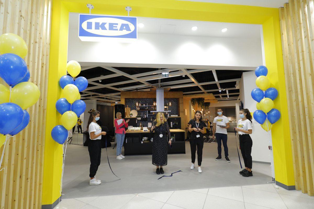 Магазинът от ново поколение на ИКЕА се намира в мол София и се откри на 08.09.2021г.